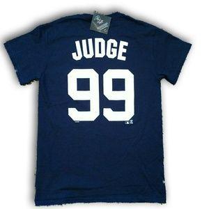 MLB Shirts - Aaron Judge Yankee All Rise Jersey Tee NWT 5d1e278f184